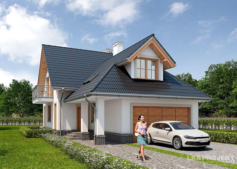 Дома с гаражом впереди фото